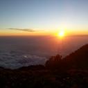 Tajumulco sunset